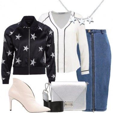 Outfit Il tronchetto bianco