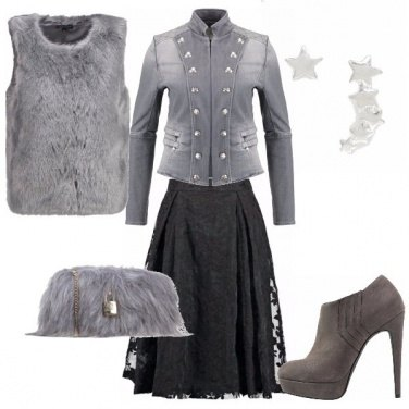 Outfit Grey rock