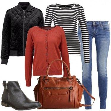 Outfit Comoda con glamour