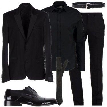 Outfit Elegantissimo in total black