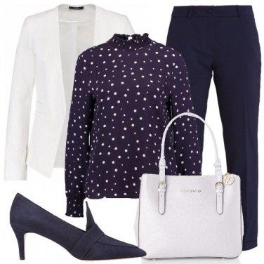 Outfit Il blazer bianco