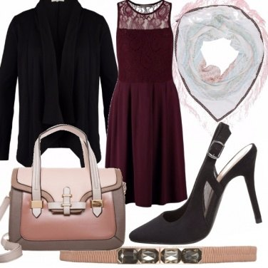 Outfit Wine  &Black
