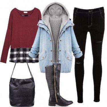 Outfit Ispirazione urban