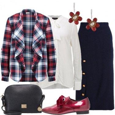 Outfit La stringata rossa
