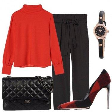 Outfit La scarpa tartan