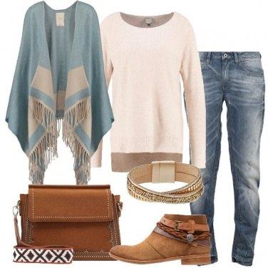 Outfit La mantella celeste
