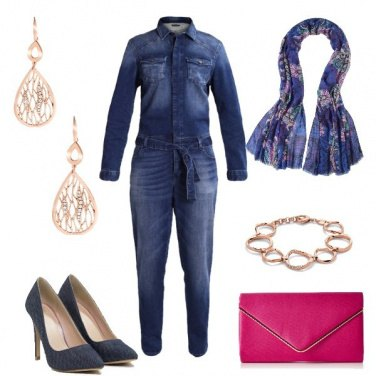 Outfit Denim di tendenza