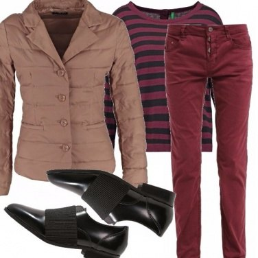 Outfit Look dal sapore maschile