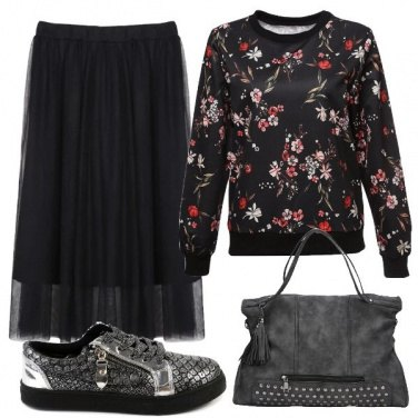 Outfit Felpa metropolitana