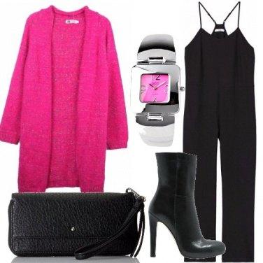 Outfit Cardigan di sera