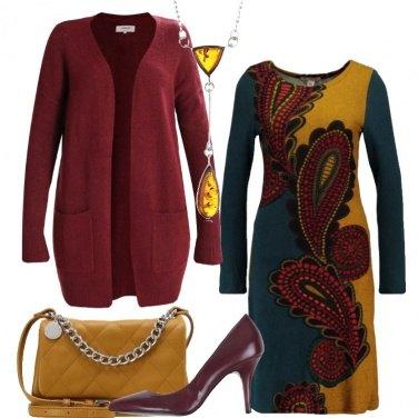 Outfit Il vestito in fantasia paisley