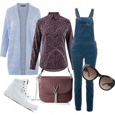 Acquista vendita a buon mercato nel Regno Unito codice coupon Come abbinare la jumpsuit blu: 396 Outfit Donna | Inverno 2020 ...