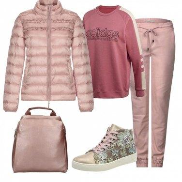 felpa adidas ragazza 14 anni rosa