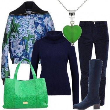 Outfit Con il verde nel cuore