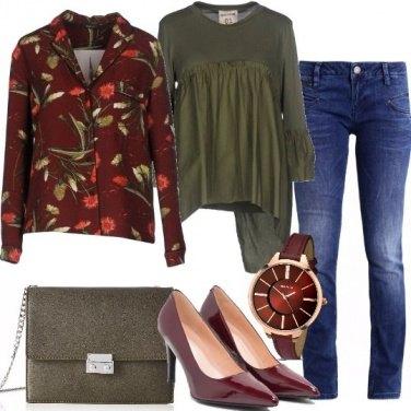 Outfit Blazer e blusa
