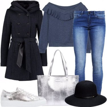 Outfit Argento everyday