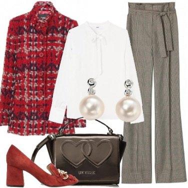 Outfit Cuori e perle