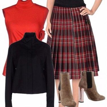 Outfit Tartan mon amour