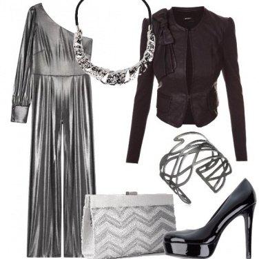Outfit Tuta d\'argento