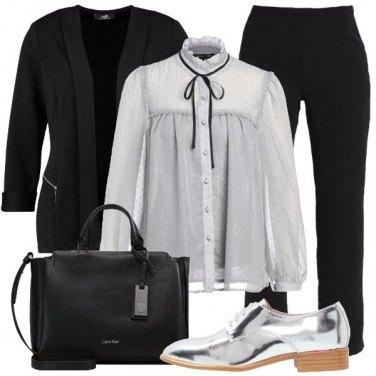 Outfit Fiocco e blazer
