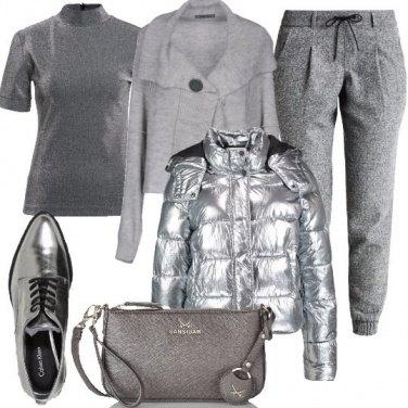 Outfit Silver per il giorno