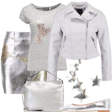 Outfit Stelle d\'oro e d\'argento