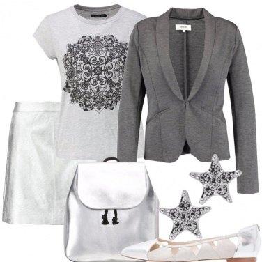 Outfit Donna d\'argento