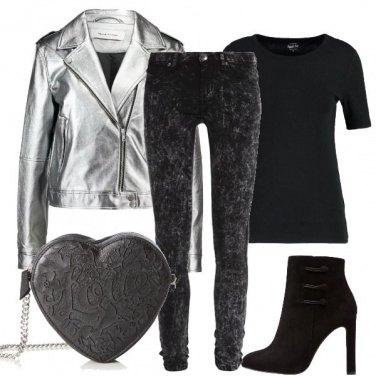 Outfit Un cuore d\'argento