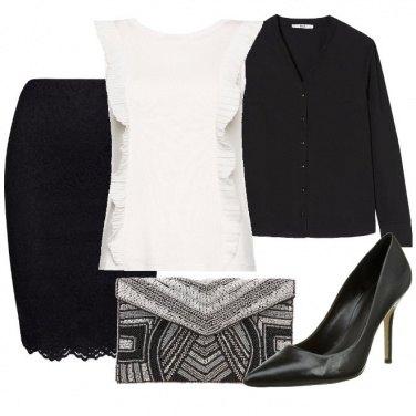 Outfit Una blusa bianca
