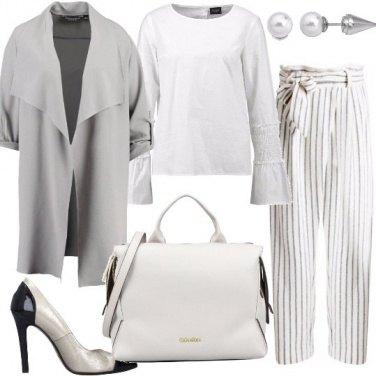 Outfit Laminato di giorno