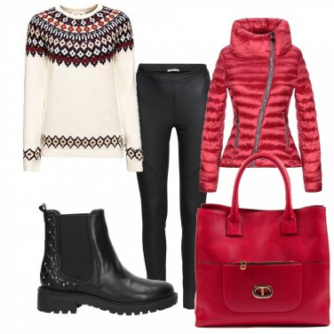 Outfit maglione Natale | 153 Look da Indossare | Bantoa