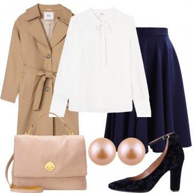 Outfit Bonton in ufficio