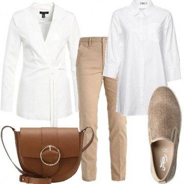 Outfit Semplice con colori tenui