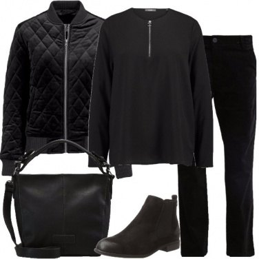 Outfit In total black