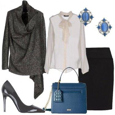 Outfit Il cappotto grigio corto