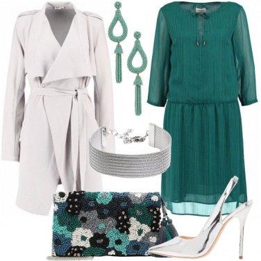 Outfit Serata con l\'argento