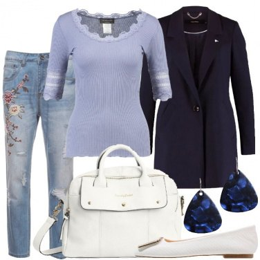 Outfit Protagonista il blu