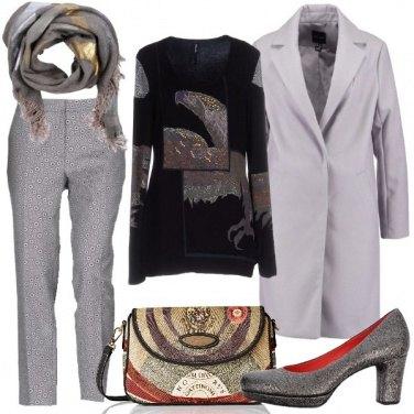 Outfit Microfantasia lamè