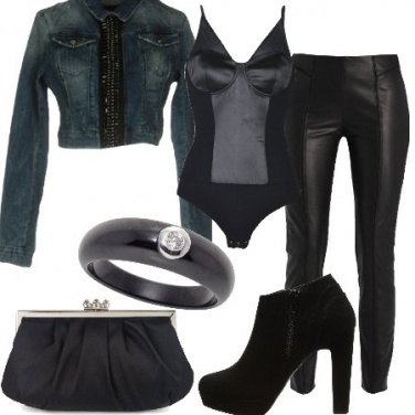 Outfit Raso e jeans