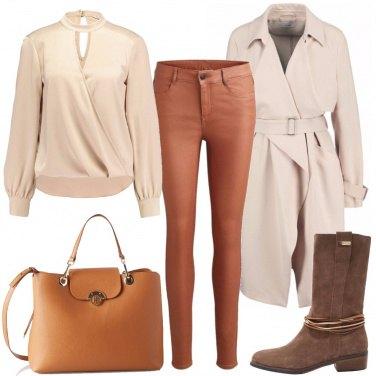 Outfit Declinazioni di marrone