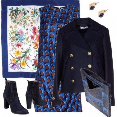 Outfit Blu come la primavera