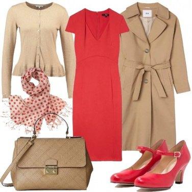 Outfit Di giorno in rosso