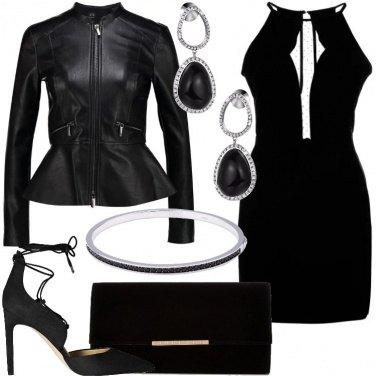 Outfit Trasparenze sul vestito
