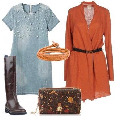 Outfit Abito con le perline