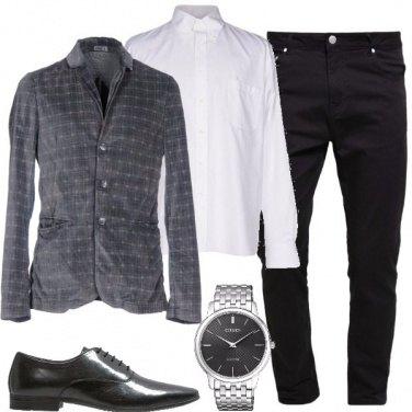 Outfit La giacca di velluto