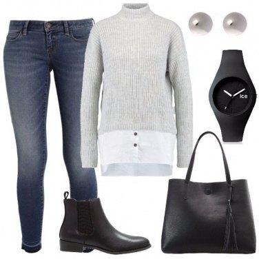 Outfit Il maglione di lana