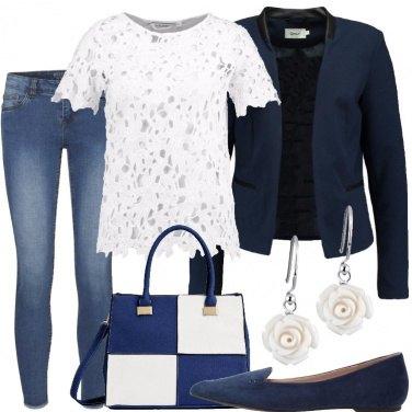 Outfit Fiori bianchi