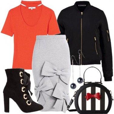 Outfit Fiocchi a profusione