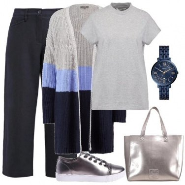 Outfit Cardigan lungo