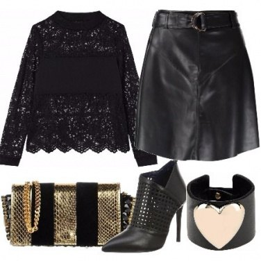 Outfit Pizzo sexy